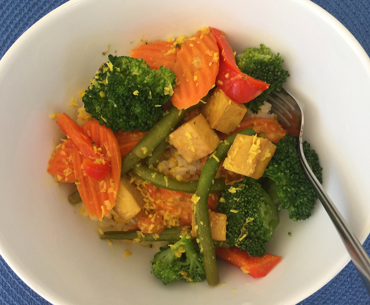 Coconut Curry With Veggies