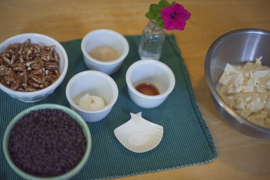 Chocolate Cream Pie Mise en Place